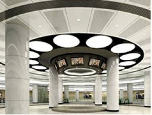 幕墙铝单板案例--多媒体科技馆