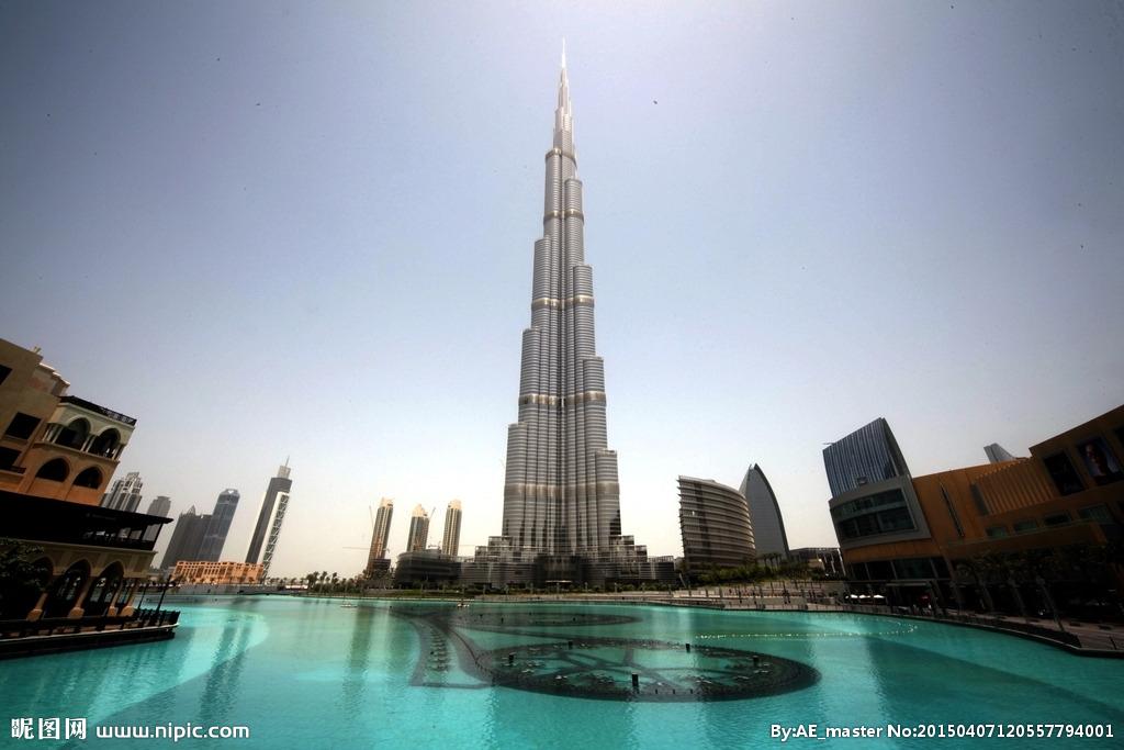 世界最高的摩天大楼就是我们今天介绍的迪拜楼,现名叫哈利法塔.